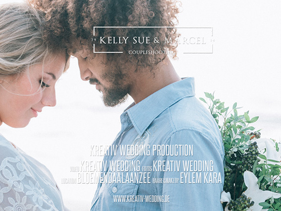 Kelly Sue & Marcel Engagementfilm Beach