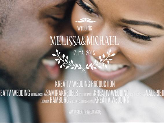 Melissa & Michael afrikanische Hochzeit Hamburg