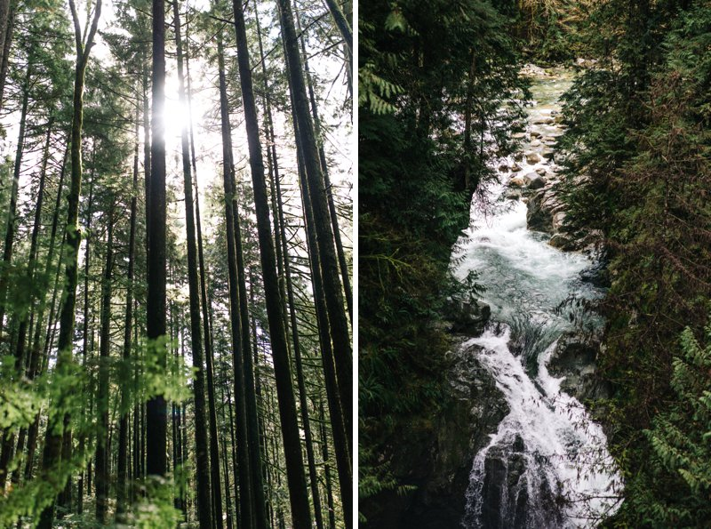 Vancouver waterfall
