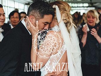 Annie & Kazu Emotionale Boho Hochzeit im LaDü
