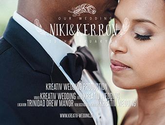 Niki & Kerron Carnival Trinidad Wedding