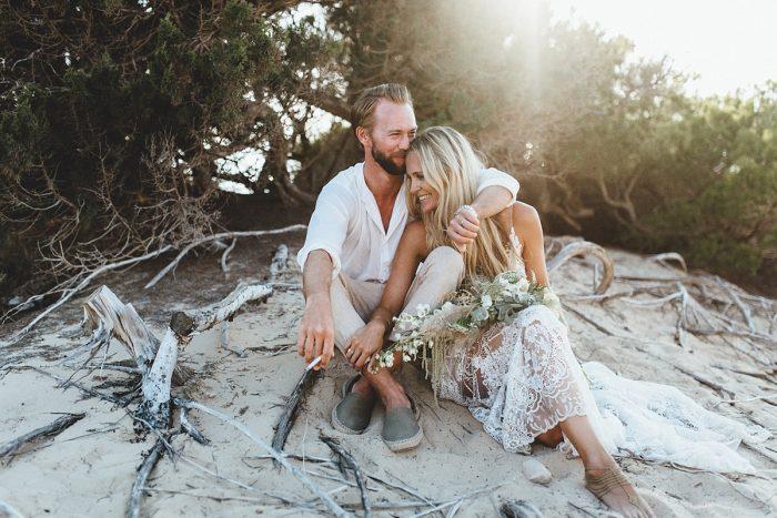 Laura & Alex Bohemian Wedding Formentera